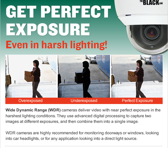 GET PERFECT EXPOSURE Even in harsh lighting!