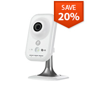 LG Wireless HD Network IP Cube Security Camera