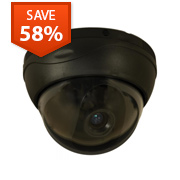 High-Resolution Indoor Dome Security Camera