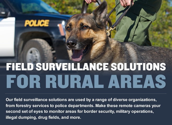 FIELD SURVEILLANCE SOLUTIONS FOR RURAL AREAS