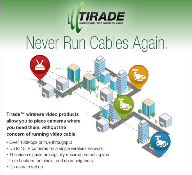 Tirade - Never Run Cables Again.