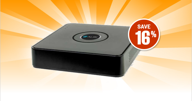 Screaming Friday Deal: Save 16% on 4-Channel 960H Compact DVR, only $49.99!