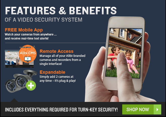 Complete 2-Camera HD-TVI Security System