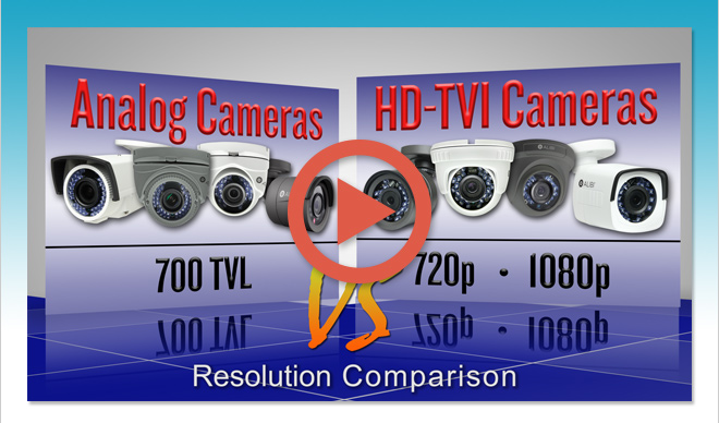 Why choose HD-TVI?  Watch these videos!