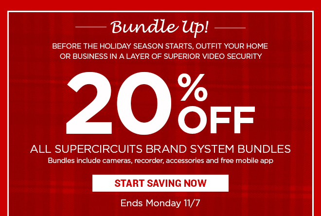 20% Off Supercircuits Brand Systems!