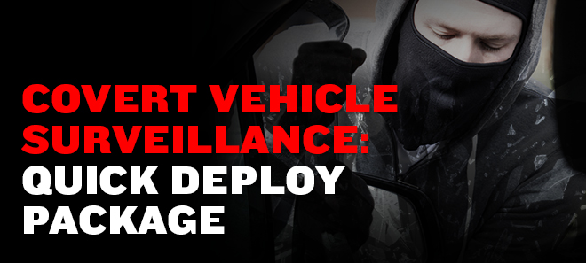 Covert Vehicle Surveillance: Custom Solutions That Get Results
