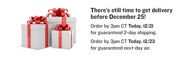 Get Guaranteed Holiday Delivery
