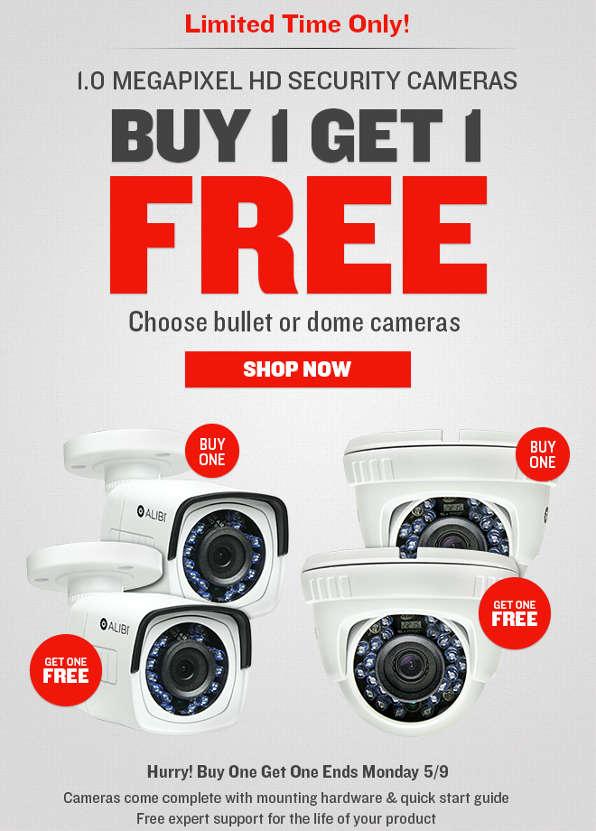 Buy One Camera, Get One FREE!