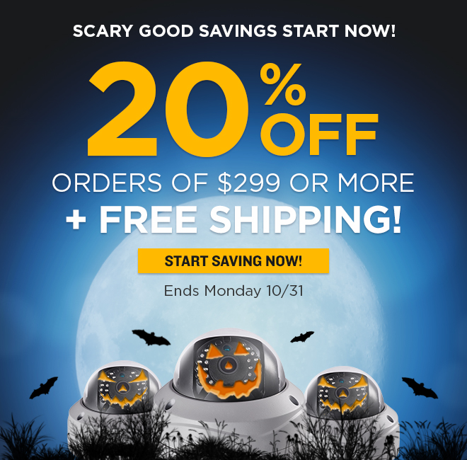 20% Off Orders of $299 or More +FREE Shipping!