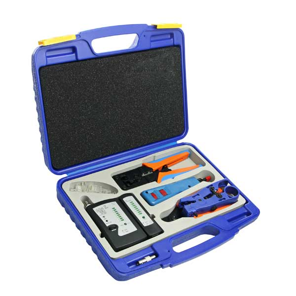 Installation Tool Kit: Network, Cable Tester