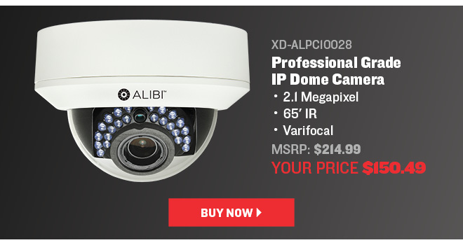 Varifocal dome camera only $150.49