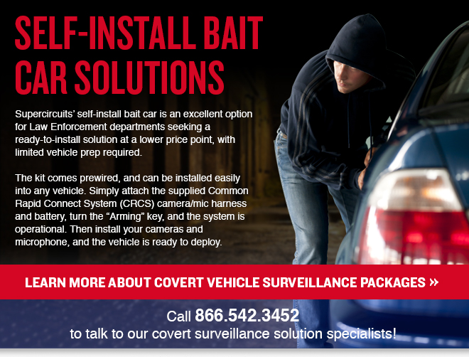Covert Vehicle Surveillance - Self Install Package