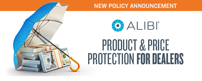 New Policy Announcement: Alibi Product and Price Protection for Dealers