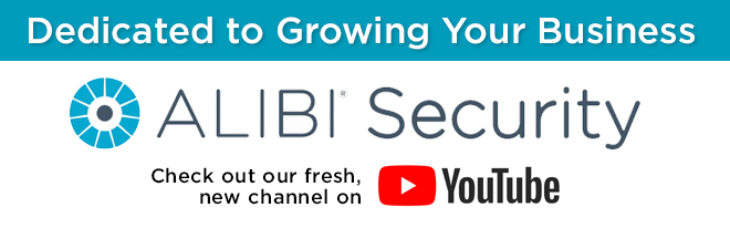 Alibi Security - Check out our fresh, new channel on YouTube!