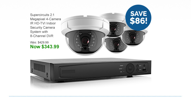 20% Off HD Systems, Cameras and Recorders