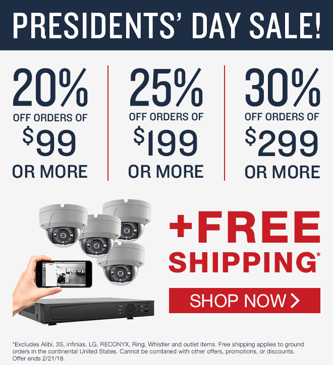 20% off ip and hd systems